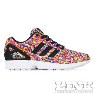 ADIDAS ORIGINALS ZX FLUX 8K MULTICOLOR PRISM