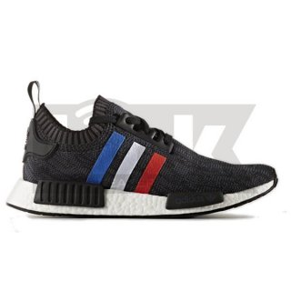 ADIDAS ORIGINALS NMD_R1 PRIMEKNIT TRI-COLOR BLACK