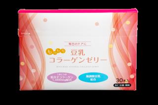 もっちり豆乳コラーゲンゼリー (杏仁豆腐風味)