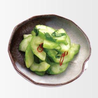 青瓜のしそ風味