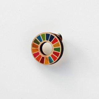 木製SDGsバッジ【送料無料】