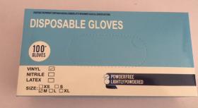 PVC手袋(100枚×5箱)