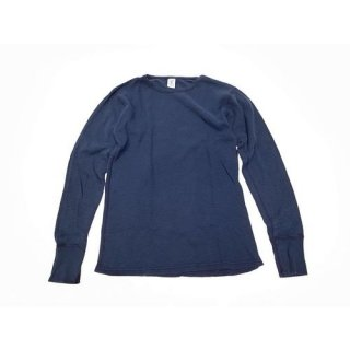 Velva Sheen 「INDIGO SLUB THERMAL - サーマルTシャツ」