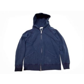 Velva Sheen 「INDIGO HOODED W-ZIP SWEAT - ジップパーカー」