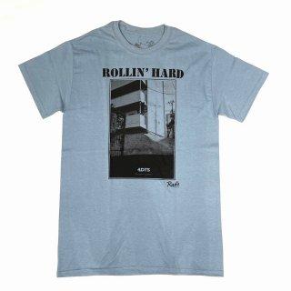 4D7S 「ROLLIN'HARD - クルーネックTシャツ」