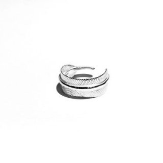 MNR Apparel 「FEATHER RING SILVER - リング」
