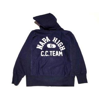 THE WYLER CLOTHING Co. 「CAR CLUB ZIP HOOD SWEAT - ジップパーカー」