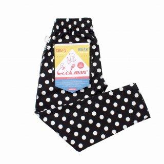 COOKMAN 「Chef Pants Kids-Dots - キッズパンツ」
