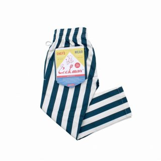 COOKMAN 「Chef Pants Kids-Wide Stripe - キッズパンツ」