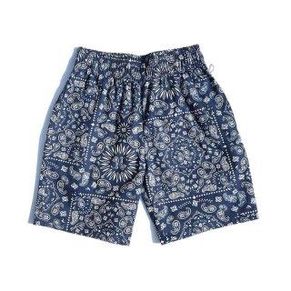 COOKMAN 「Chef Short Pants-Paisley Navy - ショートパンツ」