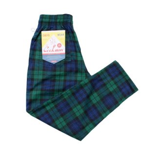 COOKMAN 「Chef Pants-Black Watch Check - シェフパンツ」