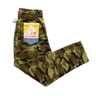 COOKMAN 「Chef Pants-Ripstop Camo Green - シェフパンツ」