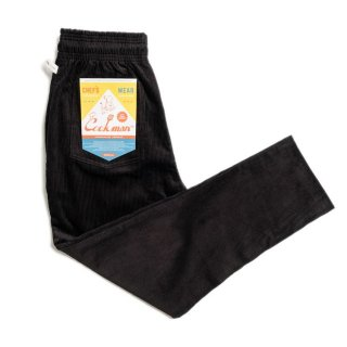 COOKMAN 「Chef Pants-Corduroy Black - シェフパンツ」