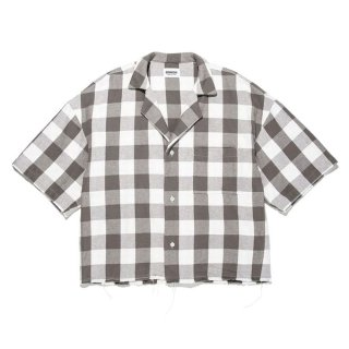 BOWWOW 「FECAL MATTER SS FLANNEL SHIRTS - ショートスリーブフランネルシャツ」
