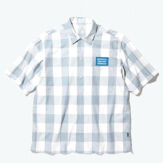 RADIALL 「SYNDICATE - R.C. SHIRT S/S - チェックワークシャツ」
