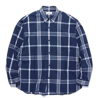 RADIALL 「CIVIC - REGULAR COLLARED SHIRT L/S - コットンチェックシャツ」