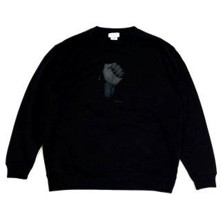 MNR Apparel 「Black is - SWEAT SHIRTS - クルーネックスウェット」