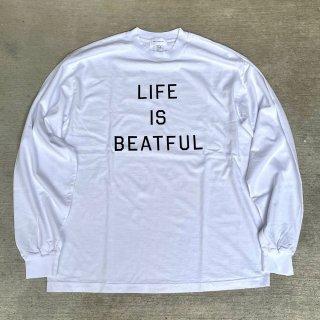 MNR Apparel 「LIFE IS BEATFUL L/S - ロングスリーブTシャツ」