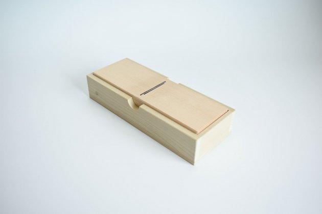 鰹節削り器<br>「薄型ミニ鰹箱(フタなし)」