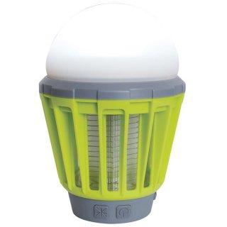 殺虫機能付き LED ランタン/照明器具 【ライムグリーン】 防水 USB充電 モスキートガード 『富士見産業 Field to Summit』