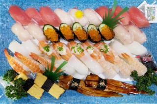 にぎり寿司盛り合せ【武】(4〜5人前)