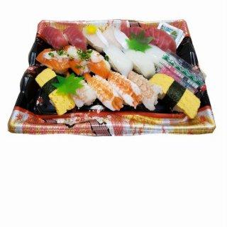 にぎり寿司盛り合せ【氷河】18貫