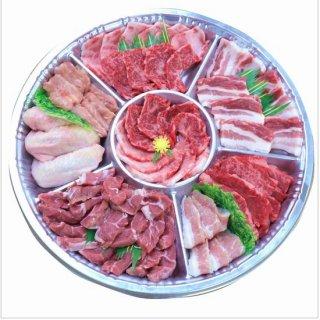 【鹿児島限定】鹿児島産 黒毛和牛カルビバーベキュー焼肉セット 約3人前