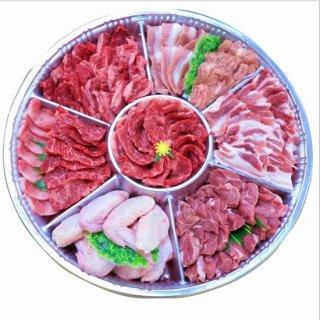 【鹿児島限定】鹿児島産 黒毛和牛カルビバーベキュー焼肉セット 約5人前