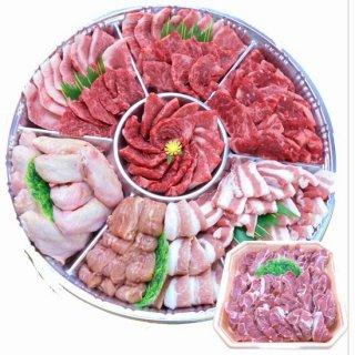 【鹿児島限定】鹿児島産 黒毛和牛カルビバーベキュー焼肉セット 約8人前