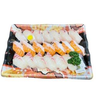 にぎり寿司3種盛り合せ(カンパチ・サーモン・真鯛)