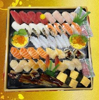 にぎり寿司盛り合せ【匠】(5〜6人前)