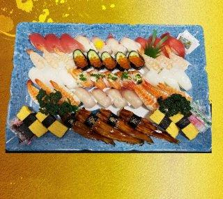 にぎり寿司盛り合せ【都】(6〜7人前)