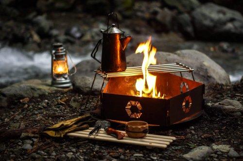 ソロキャンプに持って行きたい焚き火ギア