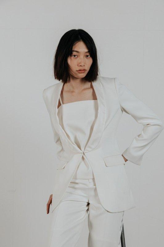 タキシードジャケット(ホワイト)