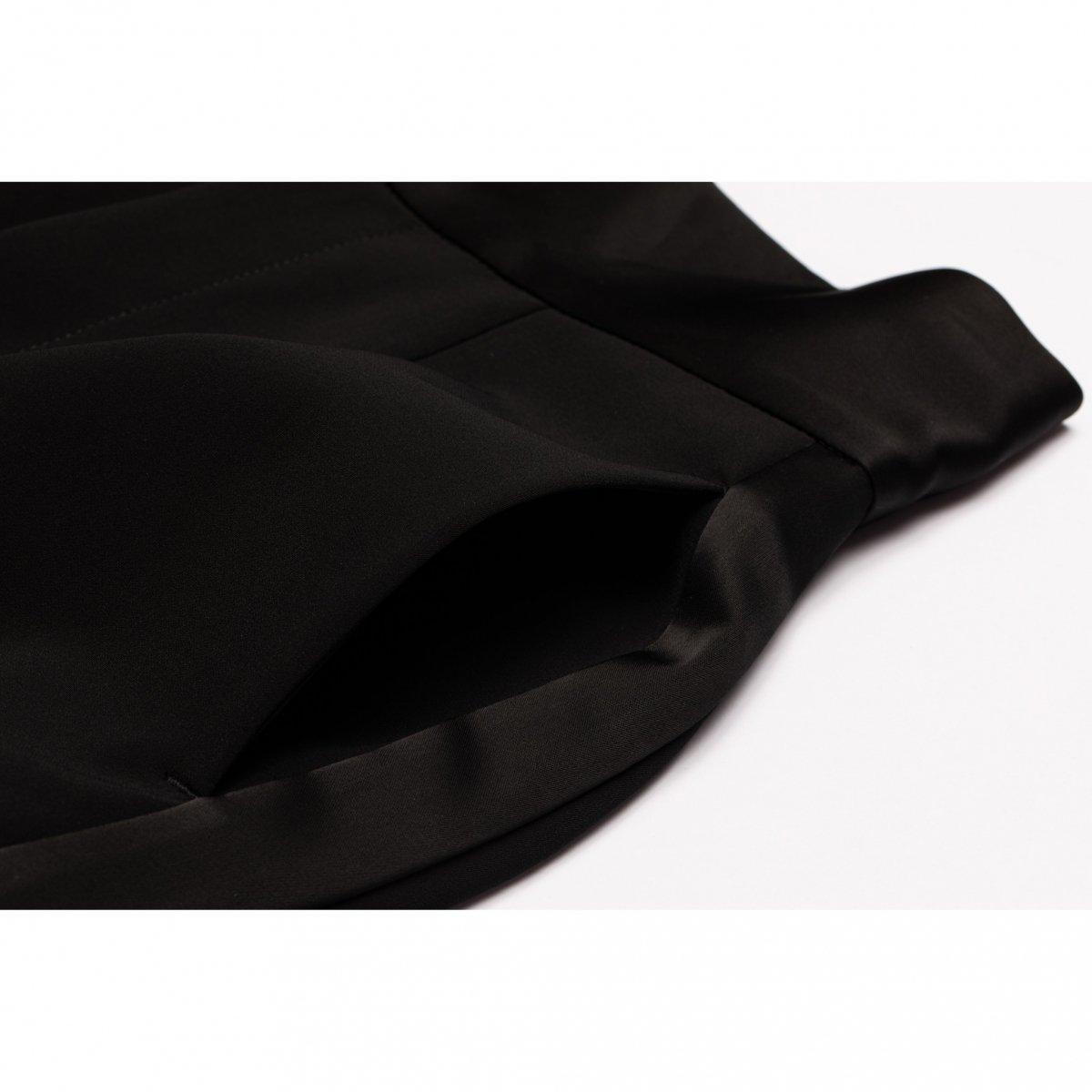 ハイウエストワイドパンツ(ブラック)