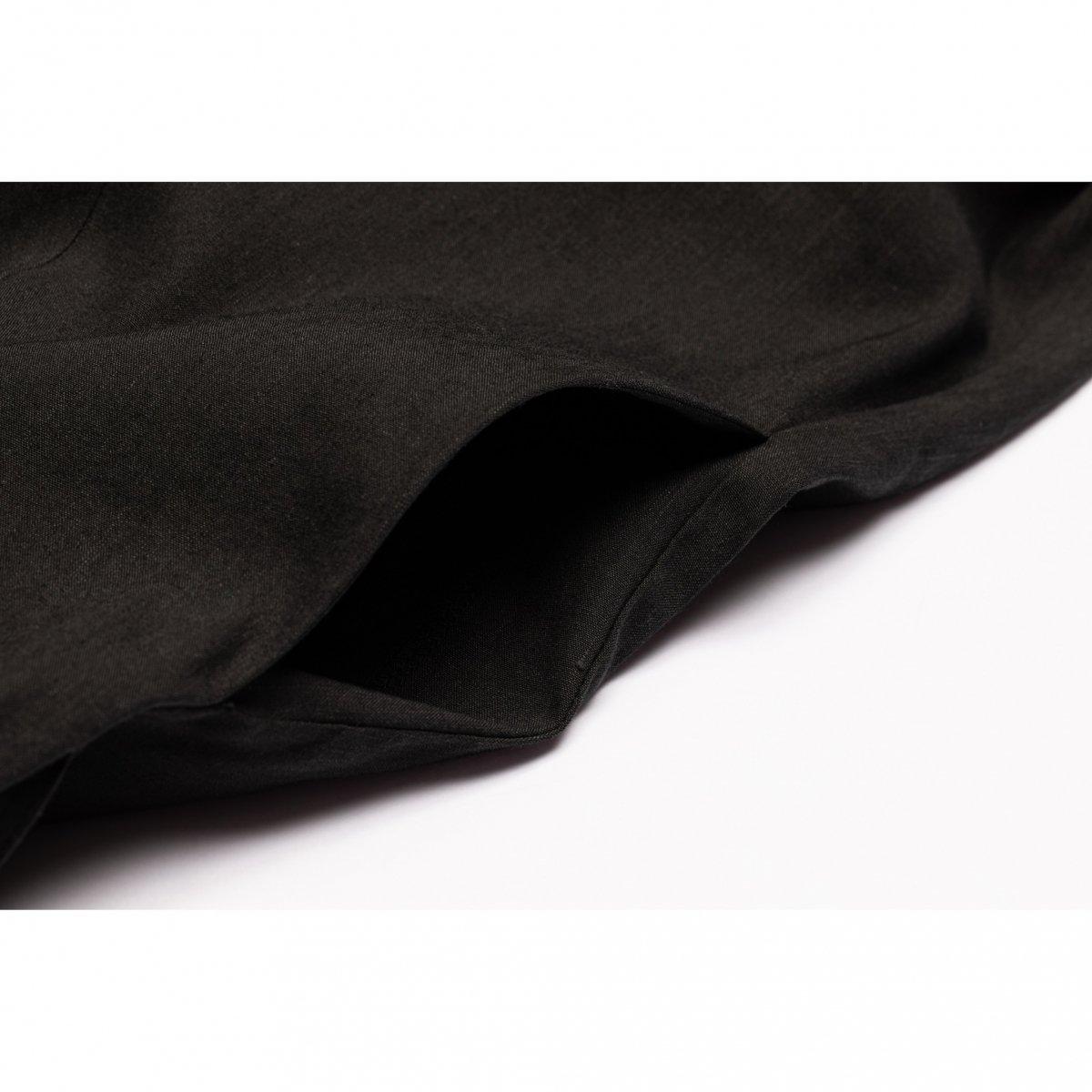 カシュクールワンピース(ブラック)