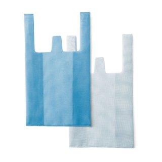 CONVENI BAG(L)  Blue×White
