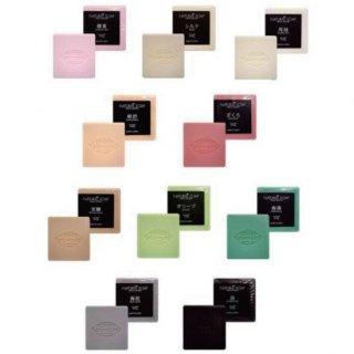 《厳選素材10種類》<br>ナチュラルソープ<br>各種100gの商品画像