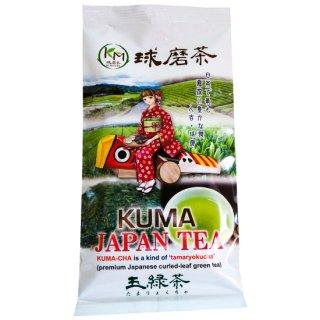 お茶の山崎 球磨茶(玉緑茶)100g
