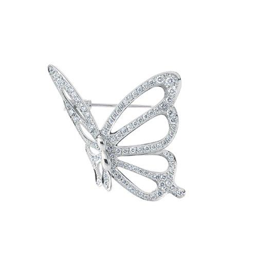 Papillon パピヨン ブローチ/Pt