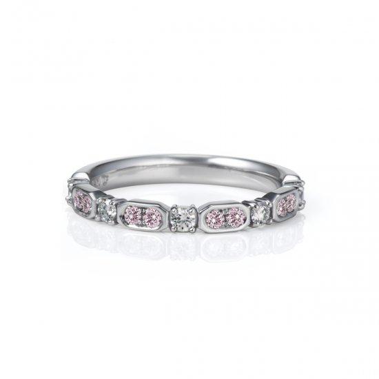 【ピンクダイヤモンド限定商品】Granité グラニテ リング/Pt950