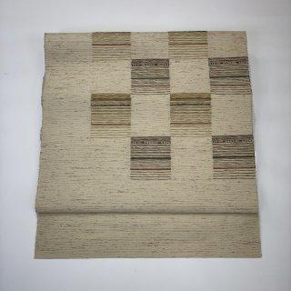 名古屋帯 八寸帯 松葉仕立て すくい織 SELECTSALE