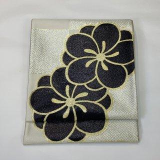 新品未仕立て 袋帯 佐々木染織 西陣織 振袖 ねじり梅