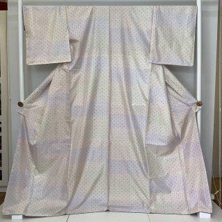 本場大島紬 窪田織物 古代染色純植物染 証紙 やまと謹製 ★裄長め ★巾広め