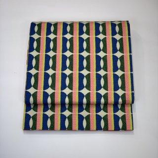 新品 京袋帯 リバーシブル コットン