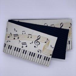 ピアノ 白 半巾帯