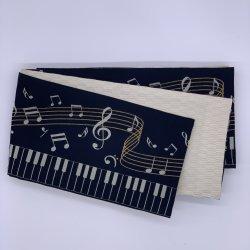 ピアノ 黒 半巾帯
