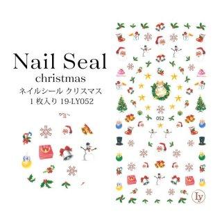 ネイルシール クリスマス 1枚入り 19-LY052