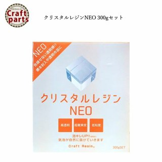 日新レジン クリスタルレジンNEO 300gセット 宅配便発送のみ NR005  443N300-6 30103