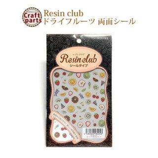 レジンクラブ R74 ドライフルーツ 両面 レジンシール RC-DRI-101 82053